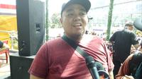 Putra almarhum Dono Warkop, Aryo. (Aditia Saputra/Liputan6.com)