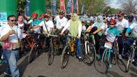 Gowes Nusantara 2019 digelar di kota Bima Nusa Tenggara Barat pada 25 Agustus 2019 (dok: Kemenpora)