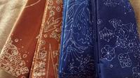Batik Salem khas Brebesan yang unik (Liputan6.com / Fajar Eko Nugroho)