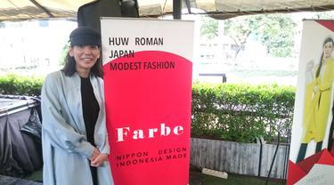 Desainer modest fashion dari Jepang Hiroko Maeomasu