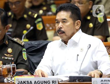 Jaksa Agung Bahas Kasus Jiwasraya Bersama Komisi III DPR