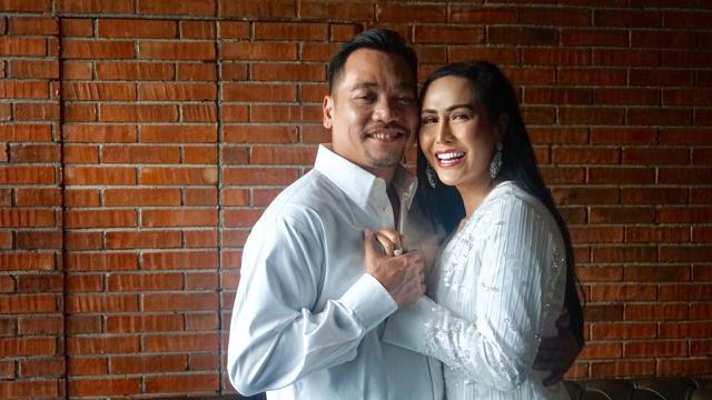 Ratu Meta dan suaminya, Eddy Faisal (ist)