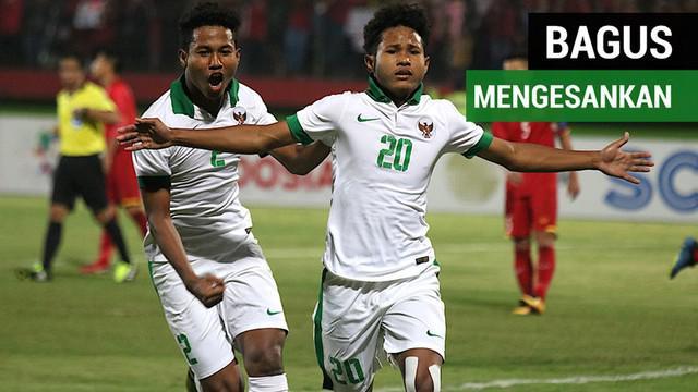 Berita video gol-gol mengesankan Bagus Kahfi untuk Timnas Indonesia U-16 di Piala AFF U-16 2018.