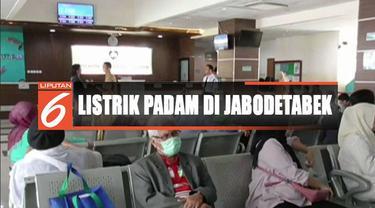 Guna menjaga pelayanan medis, RSU Kota Tangerang Selatan gunakan genset 1000 kVA untuk siasati listrik padam.