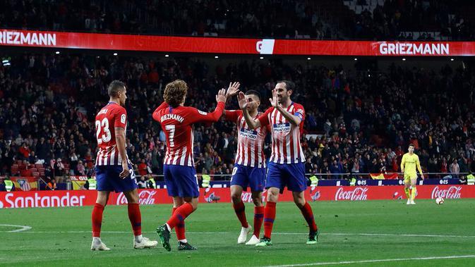 Atletico Madrid menang atas Girona dengan skor 2-0. (dok. Atletico Madrid)