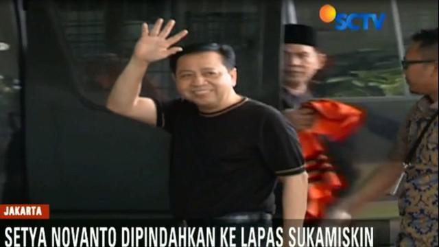 Setelah memutuskan tidak mengajukan banding, Setya Novanto akan menjalani masa pidananya selama 15 tahun di Lapas Sukamiskin, Bandung.