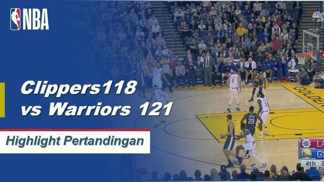 Stephen Curry meledak dengan 42 poin dan 6 rebound membawa Warriors mengalahkan Clippers