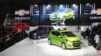 Memanfaatkan gelaran Seoul Motor Show 2015, Chevrolet memperkenalkan generasi terbaru dari hatchback Spark.