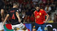 Salah satu pemain Real Madrid, Isco yang jaadi andalan Spanyol  (AP Photo/Alberto Saiz)