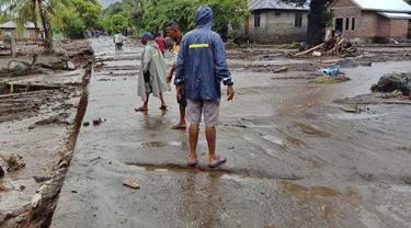 Kondisi Lembata NTT usai Terjangan Banjir Bandang