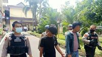 2 pria mencoba selundupkan sabu ke RTP Polrestabes Medan