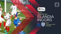 Islandia vs Inggris (Liputan6.com/Abdillah)