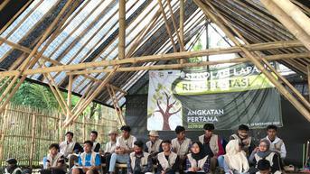 Semangat Paguyuban Sunda Hejo Ciptakan Petani Milenial Melalui Sekolah Alam Reforetasi