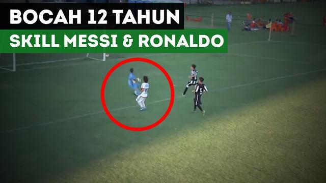 Berita video bocah 12 tahun yang memiliki skill seperti Lionel Messi dan Cristiano Ronaldo. Ia sedang viral dan namanya adalah Lucianinho.