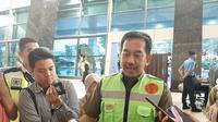 Direktur Utama PT Angkasa Pura II, Muhammad Awaluddin, di Gedung VIP Terminal 3 Bandara Internasional Soetta, Rabu (11/12/2019).
