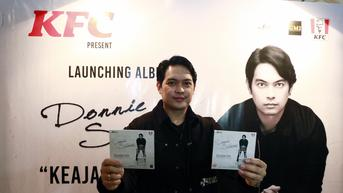 Donnie Sibarani Eks ADA Band Rilis Album Solo Perdananya