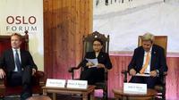 Menlu Retno jadi pembicara di Oslo Forum (Foto:Kementerian Luar Negeri)
