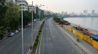 Tekan Angka Corona, Mumbai Berlakukan Pembatasan Ketat