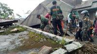 Ilustrasi – meski digoncang gempa lokal relatif kecil, ratusan rumah di Kalibening, Banjarnegara rusak April 2018 lalu (Foto: Liputan6.com/SRU RAPI BNA/Muhamad Ridlo)
