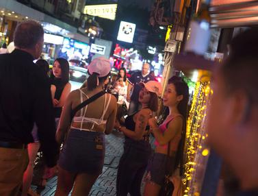 Nana Red Light Distrik di Bangkok
