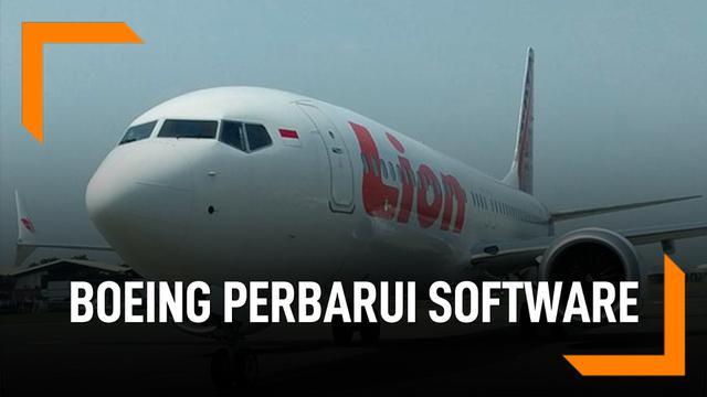Boeing Perbarui Software 737 Max Penyebab JT 610 Jatuh