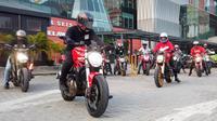 Komunitas Ducati Motors Club Indonesia menggelar aksi sosial di bulan Ramadan dengan menyambangi Yayasan Al Kahfi yang berlokasi di Lenteng Agung, Jakarta Selatan. (Foto: DMC)