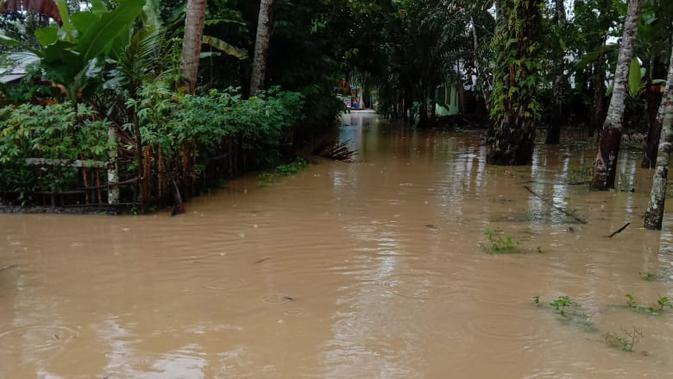 Sungai Tenang Buat Warga Batang Serangan Langkat Tak Tenang Akibat Banjir