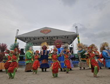Ancol gelar Parade Ondel-ondel Sambut HUT Jakarta