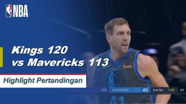 De'Aaron Fox dan Buddy Hield masing-masing mencetak 28 poin membawa Kings menang atas Mavericks