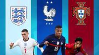 Piala Eropa - Phil Foden, Mbappe, Joao Felix (Bola.com/Adreanus Titus)