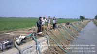 Sejumlah daerah di Kabupaten Indramayu masih berpotensi mengalami kekeringan ekstrim pada dasarian II Juli 2019 mendatang. Instansi terkait pun telah menyalurkan air bersih ke sejumlah desa yang mengalami krisis air bersih.
