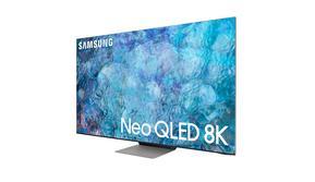 Tampilan Samsung NEO QLED 8K yang baru diperkenalkan. (Foto: Samsung)