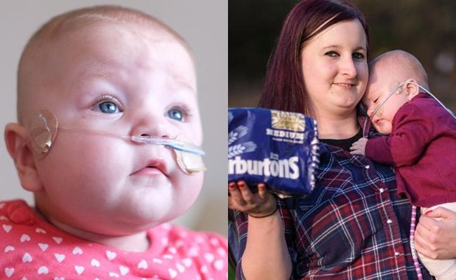 Bayi Keir tumbuh dan berkembang dengan baik serta sehat | Photo: Copyright mirror.co.uk