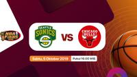 Finals NBA Classic 1996: Seattle Supersonics vs Chicago Bulls Hanya di Vidio