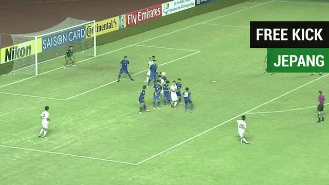 Berita video Timnas Indonesia U-19 perlu mewaspadai free kick pemain Jepang U-19 saat bertemu pada perempat final Piala AFC U-19 2018.