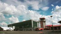 Operasional Bandara Radin Inten II Lampung tidak terganggu erupsi Gunung Anak Krakatau. (Dok Bandara Radin Inten II)