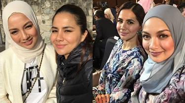 6 Potret Kebersamaan Noor Nabila dan Neelofa, Sang Kakak Artis Malaysia