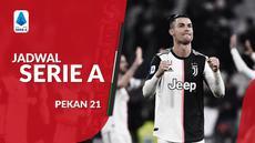 Berita video jadwal Serie A 2019-2020 pekan ke-21. Napoli ditantang Juventus, Senin (27/1/2020) di Stadion San Paolo, Napoli.