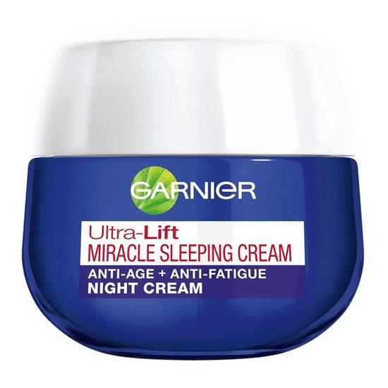 Garnier Ultra-Lift Miracle Sleeping Night Cream/copyright sociolla.com