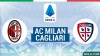 Serie A - AC Milan Vs Cagliari (Bola.com/Adreanus Titus)