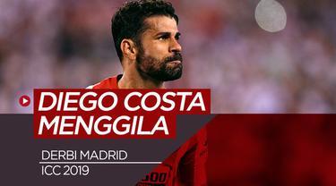 """Berita Video Diego """"Beast"""" Costa Mengamuk,Cetak 4 Gol dan 1 Kartu Merah"""