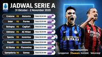 Liga Italia Serie A pekan keenam bisa ditonton di platform streaming Vidio. (Sumber: Vidio)