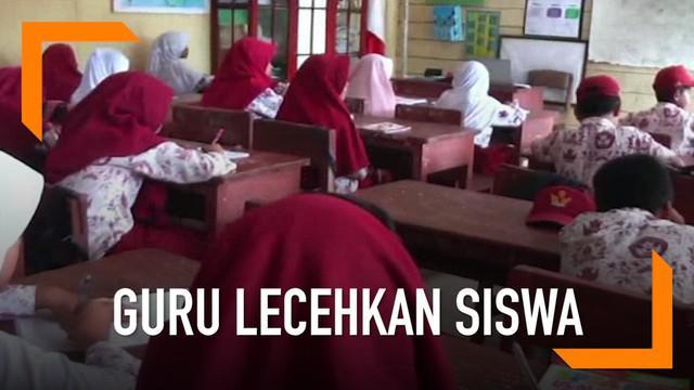 Diduga lecehkan 15 siswa, seorang guru agama dipecat pihak sekolah dan dilaporkan ke pihak berwajib.