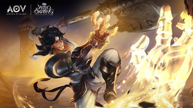 Wiro Sableng menjadi karakter gim Arena of Valor (Foto: AoV Garena)