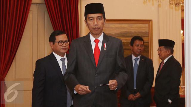 Reaksi Jokowi Saat Dengar Penyidik KPK Disiram Air Keras-Jakarta- Angga Yuniar-20170411