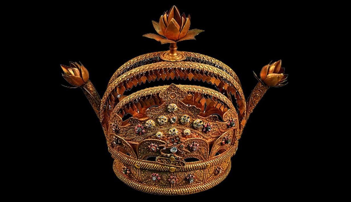 Mahkota Emas di Museum Gajah - Foto Liputan6.com