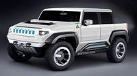 General Motors berencana membuat Hummer bertenaga listrik. (Ride.tech)