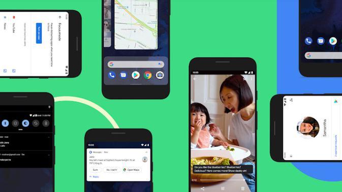 Android 10 yang baru saja dirilis oleh Google (sumber: Google)