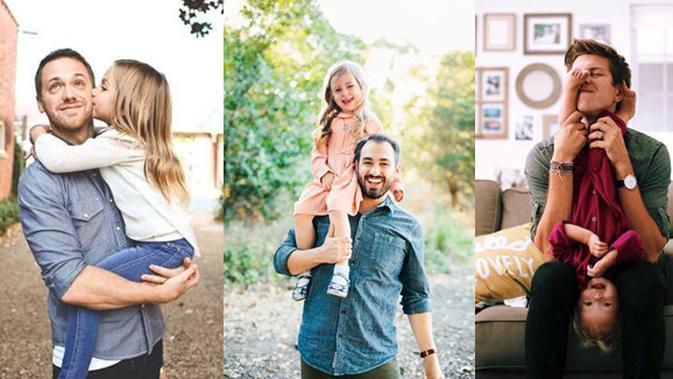 Inspirasi Foto Keluarga Ayah Dan Anak Perempuan Yang Cute Fimela Fimela Com