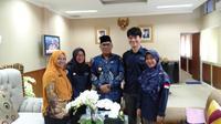 Tim Pencerah Nusantara Muara Enim saat melakukan advokasi kebijakan dana desa untuk kesehatan (Istimewa)